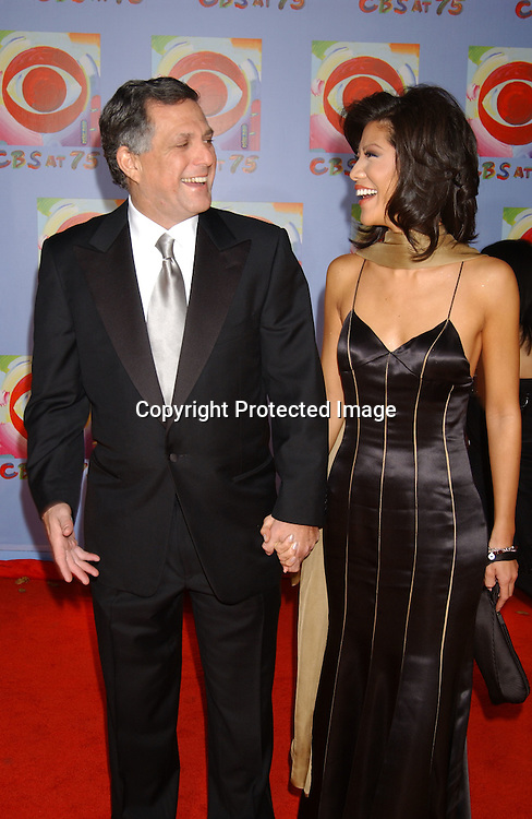 Les Moonves and Julie Chen                                  ..at CBS's 75th Anniversary at The Hammerstein Ballroom in ..New York City on November 2, 2003. Photo by Robin Platzer, Twin Images