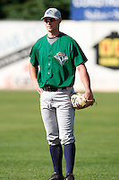 July 16, 2009:  First Baseman Ronnie Labrie of the vermont Lake Monsters during a game at Russell Diethrick Park in Jamestown Jammers, NY.  The Lake Monsters are the NY-Penn League Short-Season Class-A affiliate of the Washington Nationals.  Photo By Mike Janes/Four Seam Images