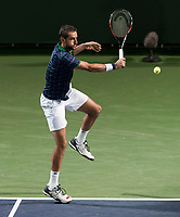 MARIN CILIC (CRO)<br /> <br /> BNP PARIBAS OPEN, INDIAN WELLS, TENNIS GARDEN, INDIAN WELLS, CALIFORNIA, USA<br /> <br /> &copy; TENNIS PHOTO NETWORK