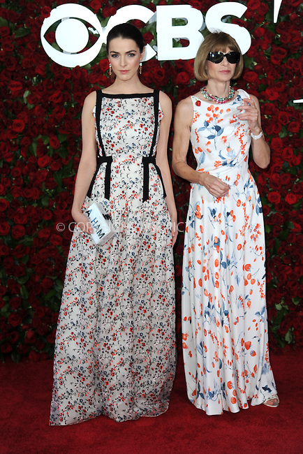 www.acepixs.com<br /> June 12, 2016  New York City<br /> <br /> Bee Shaffer and Anna Wintour attends the 70th Annual Tony Awards at The Beacon Theatre on June 12, 2016 in New York City.<br /> <br /> Credit: Kristin Callahan/ACE Pictures<br /> <br /> <br /> Tel: 646 769 0430<br /> Email: info@acepixs.com