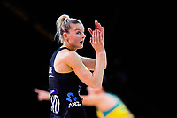 Katrina Rore in action during the Constellation Cup Netball Series match between the New Zealand Silver Ferns and Australia Diamonds at Horncastle Arena in Christchurch, New Zealand on Sunday, 13 October 2019. Photo: Dave Lintott / lintottphoto.co.nz