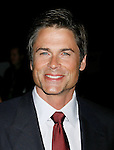 """UNIVERSAL CITY, CA. - August 14: Actor Rob Lowe attends a """"Green"""" Gala hosted by Governor Arnold Schwarzenegger at Universal Studios on August 14, 2008 in Universal City, California."""