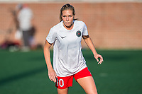 Boston, MA - Friday May 19, 2017: Allie Long during a regular season National Women's Soccer League (NWSL) match between the Boston Breakers and the Portland Thorns FC at Jordan Field.