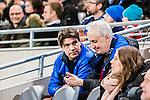 Stockholm 2015-03-05 Fotboll Svenska Cupen Djurg&aring;rdens IF - IFK Norrk&ouml;ping :  <br /> Djurg&aring;rdens sportchef Bo Bosse Andersson och scout Mats Jansson p&aring; l&auml;ktaren under matchen mellan Djurg&aring;rdens IF och IFK Norrk&ouml;ping <br /> (Foto: Kenta J&ouml;nsson) Nyckelord:  Djurg&aring;rden DIF Tele2 Arena Svenska Cupen Cup IFK Norrk&ouml;ping Peking portr&auml;tt portrait