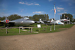 English Electric Canberra T4 Norfolk  Suffolk aviation museum Flixton Bungay England.