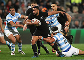 9th September 2017, Yarrow Stadium, New Plymouth. New Zealand; Supersport Rugby Championship, New Zealand versus Argentina; New Zealands Lima Sopoaga