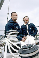 Éric Tabarly et Michel Malinovsky sur Paul Ricard, 1981