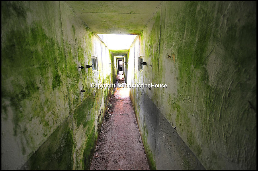 BNPS.co.uk (01202 558833)Pic: TheAuctionHouse/BNPS<br /> <br /> An underground bunker that once served as a water treatment plant has been put up for sale and is the perfect place for bringing out the inner hobbit in you.<br /> <br /> The subterranean property is in the middle of nowhere on Dartmoor in Devon and used to belong to South West Water.<br /> <br /> It has two huge empty storage tanks that were used to filter the water from the rugged landscape of radon gas before it was supplied to the people of Exeter.<br /> <br /> It was decommissioned in the 1960s and has lain empty ever since.