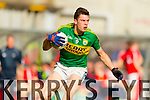 David Moran Kerry in action against  Cork in the National Football League at Pairc Ui Rinn, Cork on Sunday.