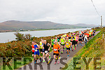 Runners at the star of the Valentia Cable Half Marathon on Saturday.