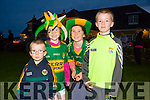 The Home Coming -The Minor Kerry Team are Welcomed back to Dingle on Tuesday by l-r  Daithí Gallagher, Orla King, Cian Gallagher and Rachel King