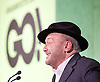 Grassroots Out Public Rally Campaign event at Queen Elizabeth Conference Centre, London, Great Britain <br /> 19th February 2016 <br /> <br /> George Galloway <br /> <br /> <br /> <br /> Photograph by Elliott Franks <br /> Image licensed to Elliott Franks Photography Services
