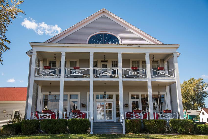 The Thunder Bay Inn at Big Bay, Michigan along Country Road 550.