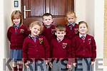 Knockaclarig NS Brosna junior infants who have started school in Siobhan Lenihan class