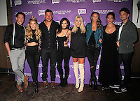 NEW YORK, NY - NOVEMBER 2:  Tom Sandoval, Ariana Madix, Jax Taylor, Scheana Shay, Stassi Schroeder, Kristen Doute, Katie Maloney, Tom Schwartz (Cast of Vanderpump Rules) pictured as BRAVO's 'Vanderpump Rules' cast at the kick-off of first ever 'VanderCrawl' bar crawl in New York, New York on November 2, 2016. Credit: Rainmaker Photo/MediaPunch