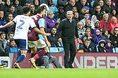 12th September 2017, Villa Park, Birmingham, England; EFL Championship football, Aston Villa versus Middlesbrough; Steve Bruce Manager of Aston Villa shouts at his players