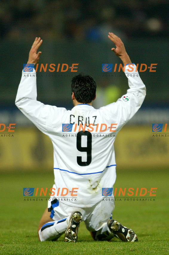 Parma 10/1/2004<br /> Parma Inter 1-0<br /> Julio Cruz (Inter)<br /> Photo Andrea Staccioli Insidefoto