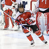 C.J. Lee (RPI - 22) was announced as part of the starting lineup for RPI. - The visiting Rensselaer Polytechnic Institute Engineers tied their host, the Northeastern University Huskies, 2-2 (OT) on Friday, October 15, 2010, at Matthews Arena in Boston, MA.