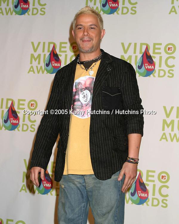 Alejandro Sanz.MTV Video Music Awards.American Airlines Arena.Miami, FL.August  28, 2005.©2005 Kathy Hutchins / Hutchins Photo....