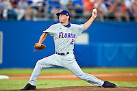 June 07, 2009:  NCAA Super Regional: Southern Miss Golden Eagles vs Florida Gators:   Florida starting pitcher Nick Maronde (26) during game two of Super Regional action at Alfred A. McKethan Stadium on the campus of University of Florida in Gainesville.  Southern Miss came from behind to defeat Florida 7-6 and to advance to the College World Series.   ...........