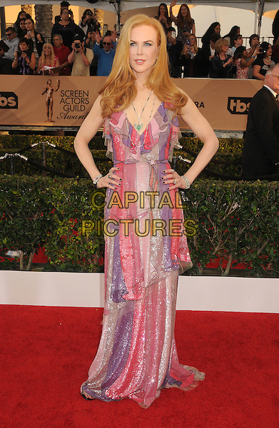 30 January 2016 - Los Angeles, California - Nicole Kidman. 22nd Annual Screen Actors Guild Awards held at The Shrine Auditorium.      <br /> CAP/ADM/BP<br /> &copy;BP/ADM/Capital Pictures