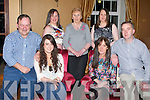 BIRTHDAY; Alice Bradley Castlemaine who celebrated her 18th birthday in Ballygarry House Hotel & Spa, Tralee on Friday night, with her family, L-r: Francie Breen, Alice Bradley (birthday girl), Noreen,Ann and Bernie Breen, Josephine Bradley and Richie Murray.