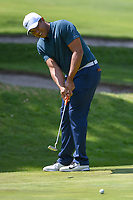 Jhonattan Vegas (VEN) watches his putt on 1 during round 3 of the World Golf Championships, Mexico, Club De Golf Chapultepec, Mexico City, Mexico. 3/3/2018.<br /> Picture: Golffile | Ken Murray<br /> <br /> <br /> All photo usage must carry mandatory copyright credit (&copy; Golffile | Ken Murray)