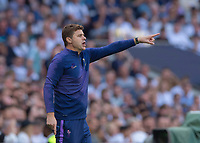 Maurizio Pochettino Manager of Tottenham Hotspur during the Premier League match between Tottenham Hotspur and Crystal Palace at Wembley Stadium, London, England on 14 September 2019. Photo by Vince  Mignott / PRiME Media Images.