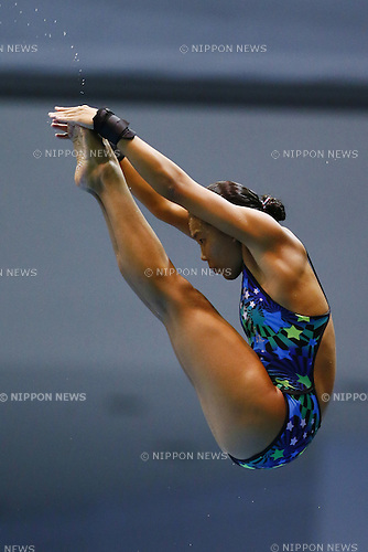 Haruka Enomoto (Sakushin),<br /> August 17, 2014 - Diving :<br /> 2014 All-Japan Inter High School Championships,<br /> Women's 10m Platform Final<br /> at Chiba International General Swimming Center, Chiba, Japan. <br /> (Photo by Shingo Ito/AFLO SPORT)