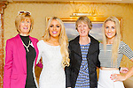 Rosalaind Moore, Laura Hogan, marianne Hogan and Aoife Moore Tralee at the Miss Kerry selection in the Plaza Hotel Killarney on Saturday night