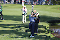 Sergio Garcia (Team Europe) on the 7th during the Friday afternoon Fourball at the Ryder Cup, Hazeltine national Golf Club, Chaska, Minnesota, USA.  30/09/2016<br /> Picture: Golffile | Fran Caffrey<br /> <br /> <br /> All photo usage must carry mandatory copyright credit (&copy; Golffile | Fran Caffrey)