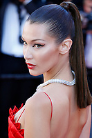 "Bella Hadid at the ""Okja"" premiere during the 70th Cannes Film Festival at the Palais des Festivals on May 19, 2017 in Cannes, France. (c) John Rasimus /MediaPunch ***FRANCE, SWEDEN, NORWAY, DENARK, FINLAND, USA, CZECH REPUBLIC, SOUTH AMERICA ONLY***"