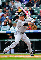 May 10, 2009: Marlins outfielder and 2009 National League Rookie of the Year candidate Chris Coghlan during a game between the Florida Marlins and the Colorado Rockies at Coors Field in Denver, Colorado. The Rockies beat the Marlins 3-2.