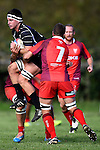 NELSON, NEW ZEALAND - April 18: Division 1 Club Rugby Kahurangi v Stoke at Cook`s Reserve, Riwaka on April 18, 2015 in Nelson, New Zealand. (Photo by: Chris Symes Shuttersport Limited)