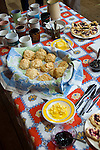 New Zealand, North Island, Wellington, scones with butter and raspberry jam. Photo copyright Lee Foster. Photo # newzealand125667