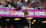 Yarisley Silva (CUB) in the womens pole vault. IAAF world athletics championships. London Olympic stadium. Queen Elizabeth Olympic park. Stratford. London. UK. 06/08/2017. ~ MANDATORY CREDIT Garry Bowden/SIPPA - NO UNAUTHORISED USE - +44 7837 394578