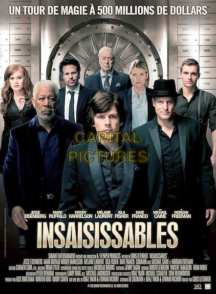 FRENCH POSTER ART<br /> in Now You See Me (2013) <br /> (Insaisissables)<br /> *Filmstill - Editorial Use Only*<br /> CAP/NFS<br /> Image supplied by Capital Pictures
