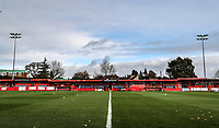 Alfreton Town<br /> <br /> Photographer Rachel Holborn/CameraSport<br /> <br /> Emirates FA Cup First Round - Alfreton Town v Fleetwood Town - Sunday 11th November 2018 - North Street - Alfreton<br />  <br /> World Copyright &copy; 2018 CameraSport. All rights reserved. 43 Linden Ave. Countesthorpe. Leicester. England. LE8 5PG - Tel: +44 (0) 116 277 4147 - admin@camerasport.com - www.camerasport.com