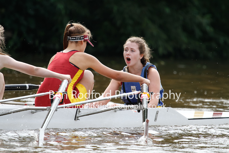 W.J14A.4x+  Final  (93) Liverpool Victoria vs (94) Worcester<br /> <br /> Saturday - Gloucester Regatta 2016<br /> <br /> To purchase this photo, or to see pricing information for Prints and Downloads, click the blue 'Add to Cart' button at the top-right of the page.