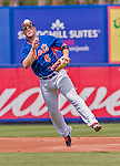 8 March 2015: New York Mets third baseman David Wright in Spring Training action against the Boston Red Sox at Tradition Field in Port St. Lucie, Florida. The Mets fell to the Red Sox 6-3 in Grapefruit League play. Mandatory Credit: Ed Wolfstein Photo *** RAW (NEF) Image File Available ***
