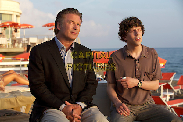 Alec Baldwin & Jesse Eisenberg .in To Rome with Love .*Filmstill - Editorial Use Only*.CAP/FB.Supplied by Capital Pictures.