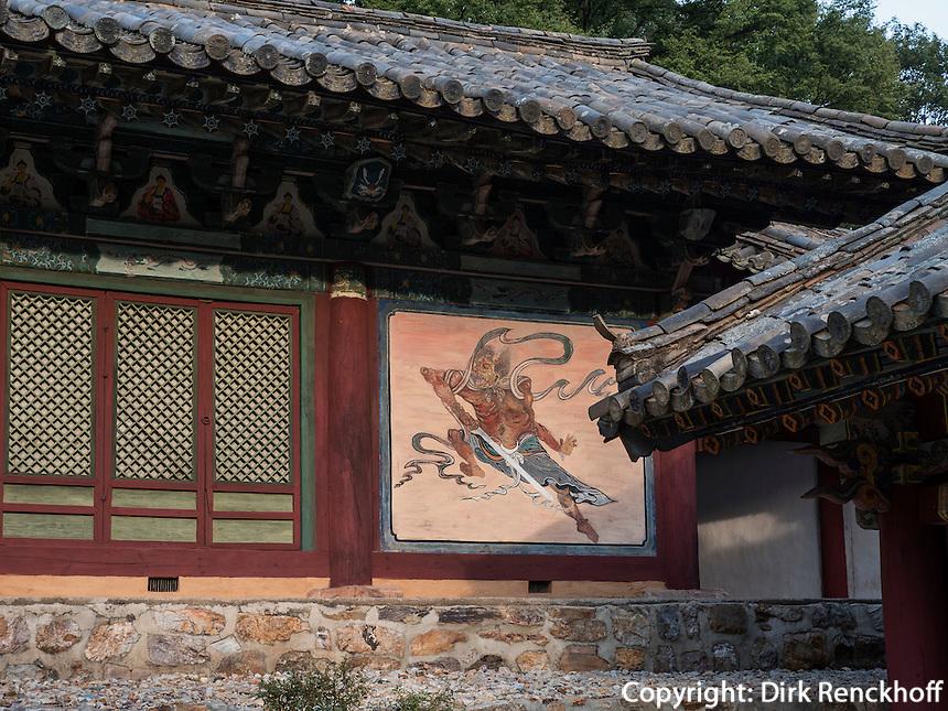 Tempel Songbul, Nordkorea, Asien<br /> temple Songbul, North Korea, Asia