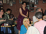 """General Hospital's Kelly Sullivan """"Kate"""" and fans at Uncle Vinnie's Comedy Club on September 9, 2012 in Pt. Pleasant, New Jersey to see their fans for autographs, meet/greet and photos.  (Photo by Sue Coflin/Max Photos)"""