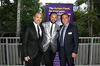 LOS ANGELES - JUN 11: David Paul, Nick Verreos, Louie Anchondo at The Actors Fund's 21st Annual Tony Awards Viewing Party at the Skirball Cultural Center on June 11, 2017 in Los Angeles, CA