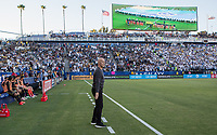 CARSON, CA - JULY 19: Bob Bradley head coach of Los Angeles FC during a game between Los Angeles FC and Los Angeles Galaxy at Dignity Health Sports Park on July 19, 2019 in Carson, California.