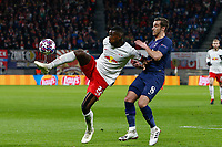 10th March 2020, Red Bull Arena, Leipzig, Germany; EUFA Champions League, RB Leipzig v Tottenham Hotspur;  Nordi Mukiele Leipzigholds off Harry Winks Tottenham Hotspur