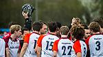 ALMERE - Hockey - Hoofdklasse competitie heren. ALMERE-HGC (0-1) .  team , huddle Almere.     COPYRIGHT KOEN SUYK