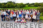 Charlie O'Leary, Hawthorn Avenue, Killarney seated centre who celebrated his 80th birthday with his family and friends in Currow on Saturday