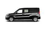 Car Driver side profile view of a 2015 Ram Promaster City SLT 5 Door Mini Mpv Side View