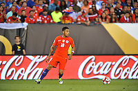 Philadelphia, PA - Tuesday June 14, 2016: Gonzalo Jara during a Copa America Centenario Group D match between Chile (CHI) and Panama (PAN) at Lincoln Financial Field.